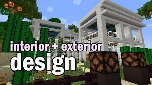 Minecraft Home Interior Ideas Minecraft Luxury House Interior And Garden Design Youtube