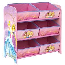 disney princess bedroom 6 bin fabric shelf worlds apart
