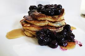 blueberry pancake recipe blueberry banana pancakes peanut butter and peppers