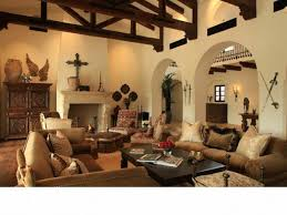 wonderful southwest colors for living room using warm cream paint