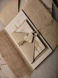 wedding invite ideas 22 burlap wedding invitation ideas weddingomania