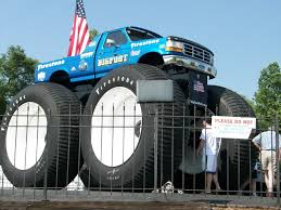 bigfoot the monster truck he exists bigfoot 4x4 open house jun 4 2011 56k go away