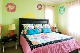 chambre ado vert déco chambre ado murs en couleurs fraîches en 34 idées