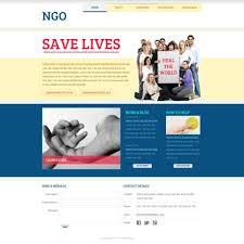 ngo website template free website templates