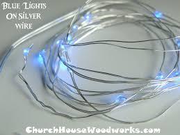 Battery Run Fairy Lights by Church House Woodworks Church House Woodworks