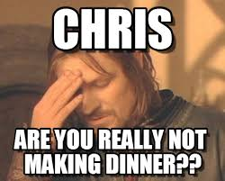Chris Meme - chris frustrated boromir meme on memegen