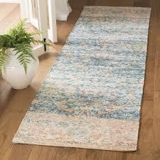 Turquoise Runner Rug Safavieh Safran Handmade Blue Orange Cotton Runner Rug 2 U0027 3 X 8