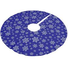 royal blue tree skirts zazzle