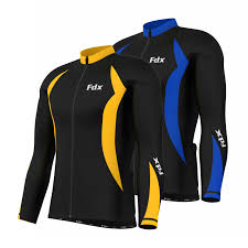 mens thermal cycling jacket fdx mens cycling jersey full sleeve winter thermal cold wear