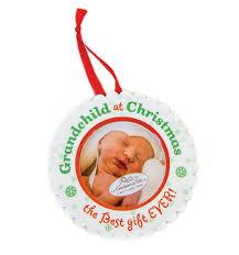 amazon com the grandparent gift ceramic photo ornament baby u0027s