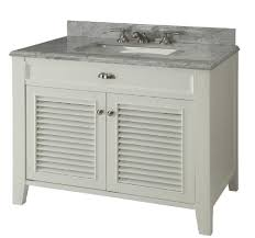 36 inch bathroom vanity cottage beach style off white color 36