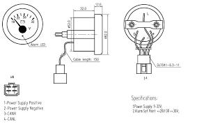 stepper motor driven volt gauge 24v china mainland auto meter