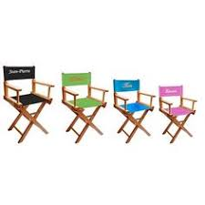 chaise metteur en sc ne b b fauteuil metteur en scène prénom bleu ciel fauteuil metteur en