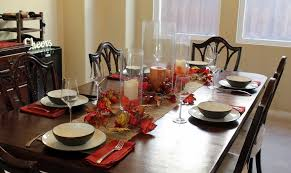 Dining Room Table Runners Furniture Candles And Table Runners For Stunning Table
