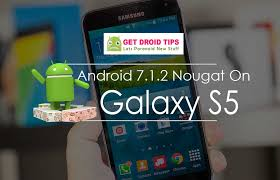 android rom install official android 7 1 2 nougat on galaxy s5 custom rom aicp