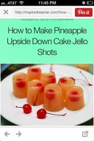 great shots for parties food and drinks pinterest food