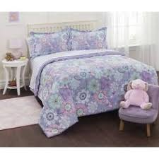 Girls Bed In A Bag by Mainstays Kids Butterfly Floral Bed In A Bag Bedding Set Walmart