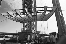 2 400 historic photos of the space needle being built archpaper com