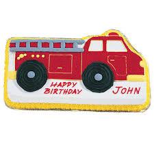 firetruck cake truck cake truck birthday cake wilton