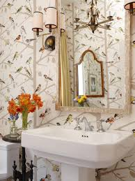 Wallpaper Designs For Bathrooms by Preparing Your Guest Bathroom For Weekend Visitors Hgtv