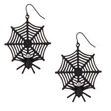 fake braces spirit halloween spider web earrings claire u0027s