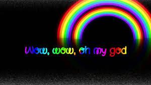 Double Rainbow Meme - double rainbow song hd lyrics youtube