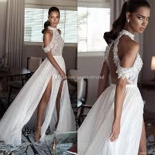 cold shoulder wedding dress high neck cold shoulder drape sleeves beaded bodice wedding