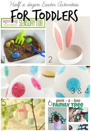 half a dozen easter activities for toddlers mums days