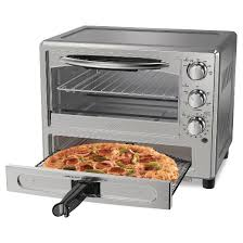 Cooking In Toaster Oven Oster Pizza Toaster Oven Tssttvpzda Target