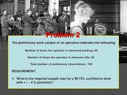 work measurement and standard setting ppt