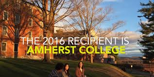 Amherst College by 1 Million Cooke Prize Recipient Announced
