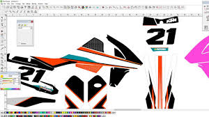 design jersey motocross motocross graphics full design ktm 450 sx graphics kit in vector