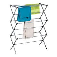 honey can do folding table amazon com honey can do foldable drying rack metal home kitchen