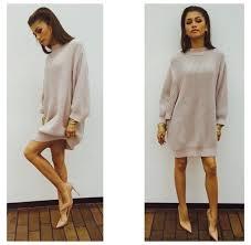 sweater dress girly zendaya sweater dress turtleneck