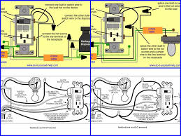 wiring diagram for light switch and receptacle coachedby me
