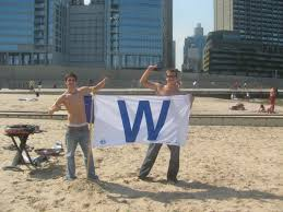 Cubs Flag File 20080920 Cubs Win Flag At Ohio St Beach Jpg Wikimedia Commons