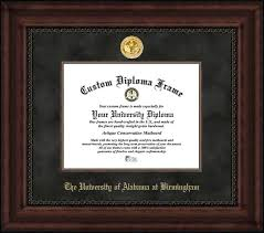 of alabama diploma frame of alabama at birmingham diploma frames certificate