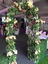 flower arch artificial flower arch berrimah flower bar