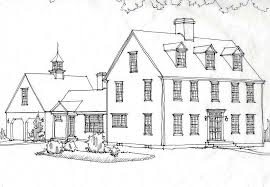 colonial style home plans colonial homesclassic colonial homes