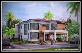 philippine dream house design five bedrooms two storey house