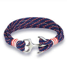 anchor bracelet men images Mkendn new arrival fashion jewelry navy style sport camping jpg