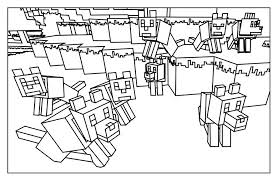 minecraft 14 minecraft coloring pages coloring kids