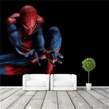 Spiderman Wallpaper For Bedroom Amazing Spider Man Wall Mural Cool Photo Wallpaper Wall Stickers