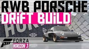 1991 porsche 911 turbo rwb forza horizon 3 rwb porsche drift build 911 gt2 youtube
