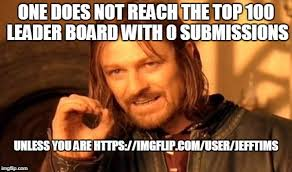 Top 100 Internet Memes - one does not simply meme imgflip