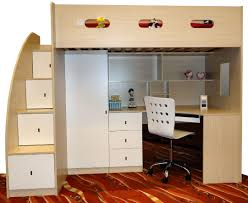 modern bunk beds for kids with desks underneath simple photo details these