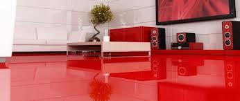 resine sol sols et tapis revêtement sol résine aspect brillante salon