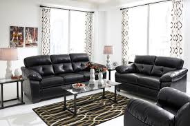 3 piece living room set bastrop durablend midnight living room set from ashley 44601 38