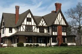 Tudor Style House English Tudor Exterior Paint Colors English Tudor English