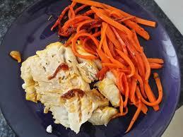 comment cuisiner le filet de lieu noir recette filet de lieu noir caramélisé à l orange et carottes 750g